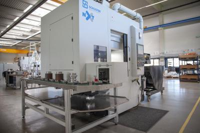Zukunftsfähig, hochpräzise, extrem flexibel und zu 100 % Made in Germany – das Maschinenkonzept der Schuster nxt überzeugt rundum
