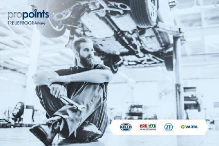 proPoints deckt mit seinem neuen Partner CLARIOS nun ca. 70 % des Teilebedarfs einer Werkstatt ab. Da lohnt sich das Punktesammeln