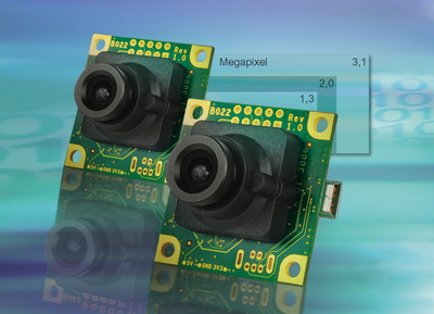 3 MPixel USB Cameras in Board-Level Version with S-Mount Lens Connection