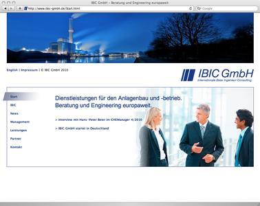 IBIC Start-Screen