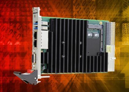 Carte CompactPCI PlusIO dotée d'un Intel Atom Apollo Lake-I