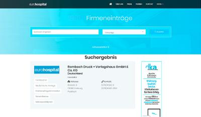 eurohospital ist online