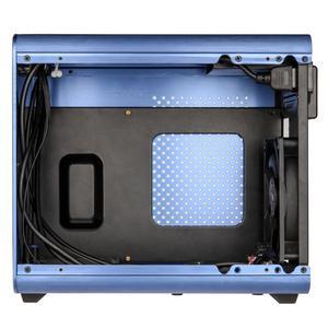 Caseking  RaiJintek Metis  Mini-ITX-Gehäuse blau Window