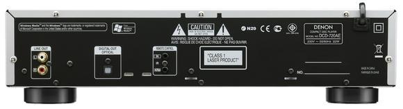 DCD-720AE Rückansicht