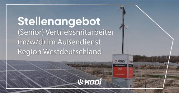 (Senior) Vertriebsmitarbeiter (m/w/d) im Außendienst Region Westdeutschland