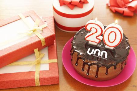 Happy Birthday UNN - wir feiern 20 Jahre Erfolgsgeschichte!