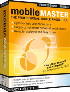 Mobile Master is a universal tool for synchronizing data between mobile phone and PC - with cross-platform support for numerous mobile handsets
