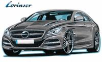 Sports dress for the next generation Mercedes CLS