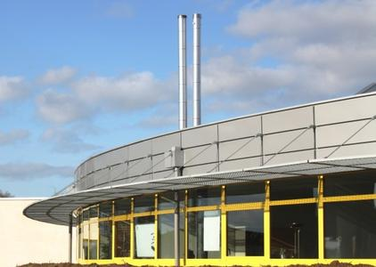 The new office building of Wagner & Co in Simandre, France