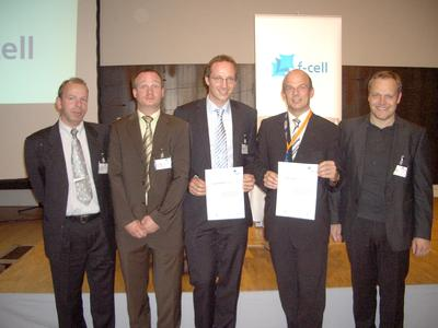 Von links nach rechts: Dr. Claas Müller, Mirko Frank, Dr. Gilbert Erdler, Prof. Holger Reinecke, Ingo Freund