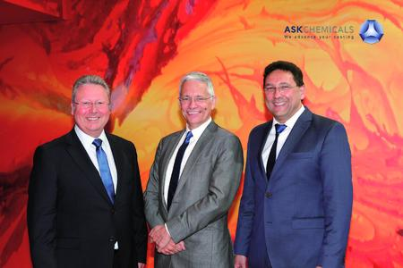 Members of the management of ASK Chemicals report on the strategic direction of the company