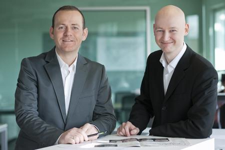 Ch.Hölzlwimmer (CEO) &. St.Matz (CVO)