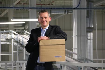 Andreas Wiebe, Project Manager Logistics bei Festo USA / Foto: Festo