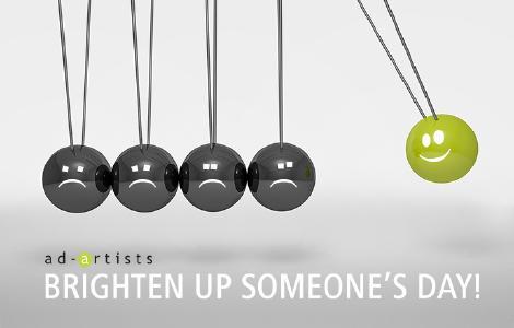 BRIGHTEN UP SOMEONE´S DAY! - In schwierigen Zeiten den richtigen Ton in der Kommunikation zum Kunden finden
