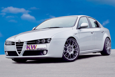 KW coilover suspensions, sport suspension and sport springs for BMW 3-series E91 Touring and Alfa Romeo