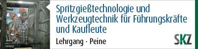 Spritzgießtechnologie und Werkzeugtechnik für Führungskräfte und Kaufleute