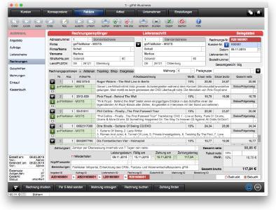 Gfm Business Rechnungsprogramm Für Mac Pc Und Ipad Ab Sofort Auch