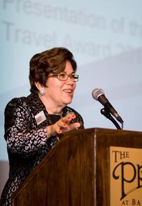 IADR Präsidentin Dr. Maria Fidela de Lima Navarro betonte, wie wichtig die Förderung junger Wissenschaftler ist