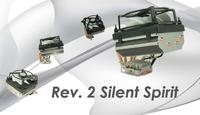 "Launch of ""Rev. 2 Silent Spirit"" - CPU Cooler"