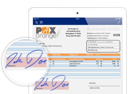 Electronic signature - sign online