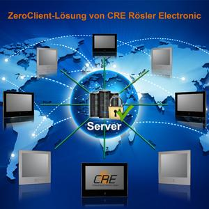 """More efficiency for the """"Smart Factory"""" with ZeroClient via PCoIP"""