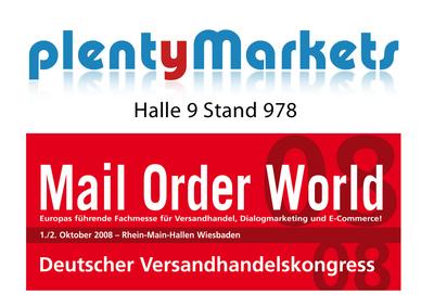plentySystems präsentiert eBusiness Software plentyMarkets auf der Mail Order World