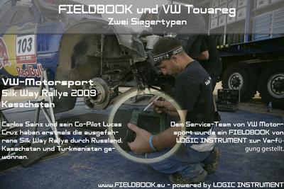 FIELDBOOK - bei VW-Motorsport