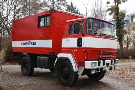 Goodyear Duraseal Fahrzeug