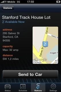 BMW Concept ActiveE Smartphone Application