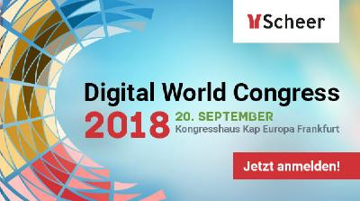 Scheer Digital World Congress 2018 – Unternehmung 4.0 – Process Automation and Digital Business