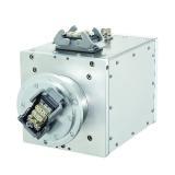 Schleifring mit integrierter Sensorik für Industrie 4.0 Anwendungen. Neben der Übertragung von Strom, Signalen und Daten werden weitere Zustandsgrößen erfasst und für Condition Monitoring bereitgestellt.