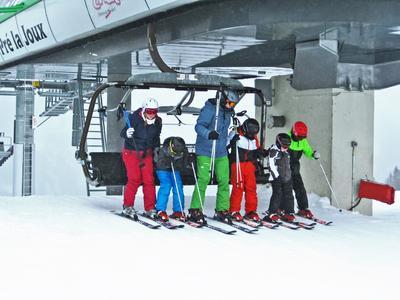 Sicher auf dem Skilift