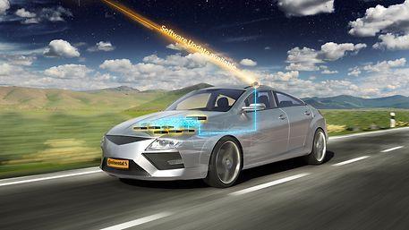 Continental kann weltweit Updates für die gesamte Fahrzeugsoftware über Luftschnittstelle zur Verfügung stellen. © Continental AG