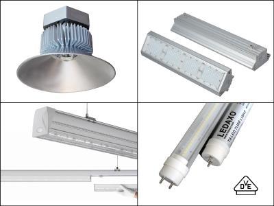Langlebige LEDAXO LED-Leuchten für Fertigungsbetriebe und Logistikhallen, Copyright: LEDAXO GmbH & Co. KG
