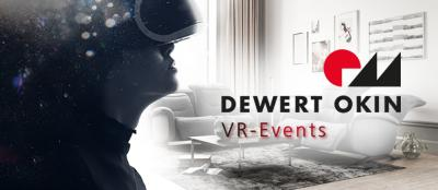 Clicked in: DewertOkin presents high-quality fittings for seating furniture at the virtual trade fair