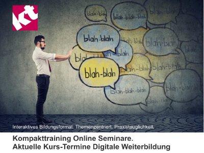 Kommunikationstraining, Beschwerdemanagement, Konfliktmanagement