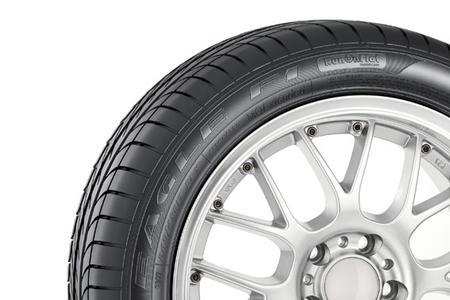 Der Eagle F1 Asymmetric von Goodyear - ein RunOnFlat-Reifen der neuesten Generation.