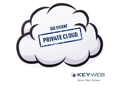 Die Private Cloud von Keyweb - höchste Datensicherheit für die eigene, autarke Cloud-Umgebung