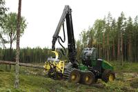 John Deere launches several innovative features with the first e-series interim tier 4 harvesters