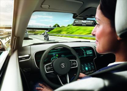 Das Lenkrad einfach loslassen – das Ziel der Entwicklung des automatisierten Fahrens