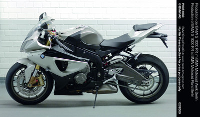 The Race is on: Supersports Bike BMW S 1000 RR Comes off the Production Line at the BMW Motorrad Plant in Berlin