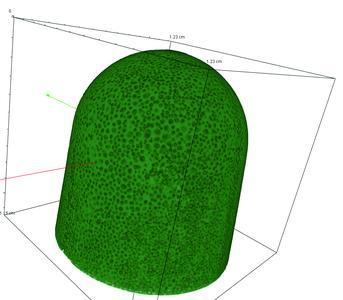Polymerschaum (Quelle: Fraunhofer EZRT)