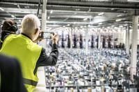 Bei Amazon in Pforzheim und in den weiteren elf deutschen Logistikzentren des Online-Händlers konnten Besucher am Tag der Logistik moderne Lagertechnologien entdecken