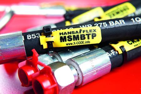 HANSA-FLEX Schlauchleitung mit X-CODE