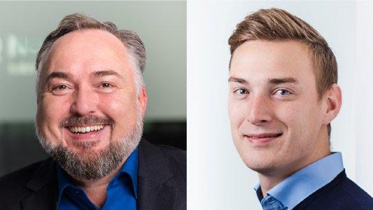 Michael Neef (li.) und Alexander Seidel (re.) sind Head of Sales im NoSpamProxy-Team