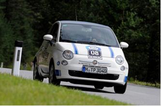 Mit der Nummer 8 war der Karabag 500e Anfang August am Start der e-miglia, der weltweit härtesten Rallye für Elektro-Fahrzeuge
