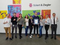 Eckert & Ziegler Awarded for Excellent Training Quality