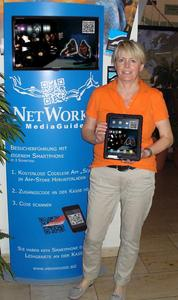 NetWorks MediaGuide im Urwelt-Museum - iPads und Dinoknochen