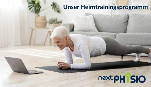 NextPhysio - Unser digitales Heimtrainingsprogramm