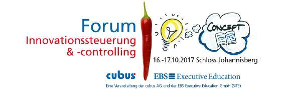 Nicht verpassen! Forum für Innovationssteuerung und -controlling 2017